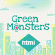 Greenmonster - Landing Page Template