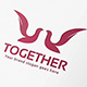 Together Bird Logo - GraphicRiver Item for Sale