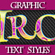 Set of Text Graphic Styles for Various Design - GraphicRiver Item for Sale