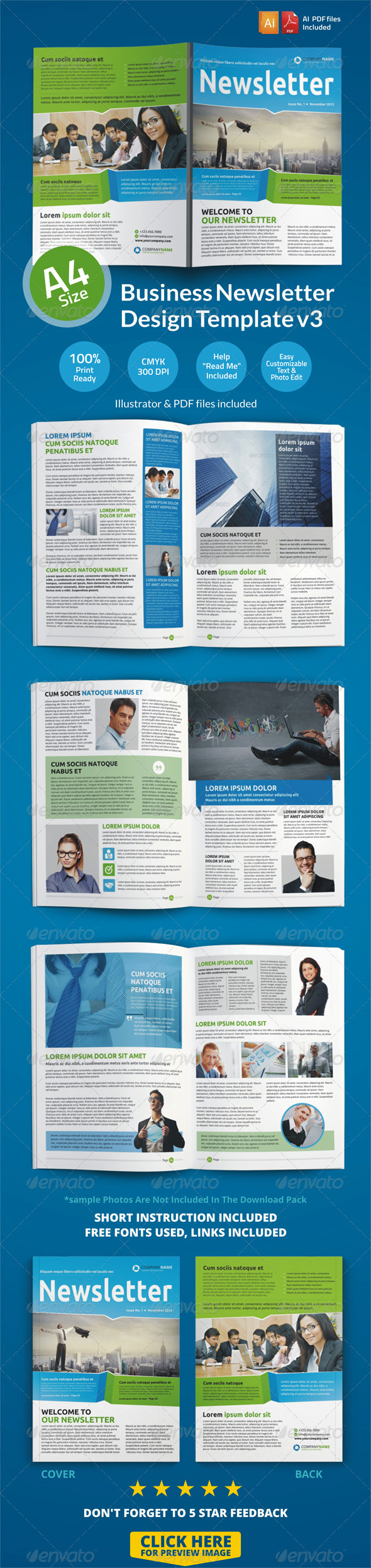 GraphicRiver Newsletter Design Template v3 6686906