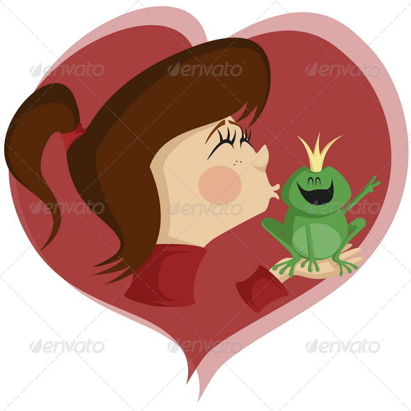 GraphicRiver Kiss The Frog 6687630