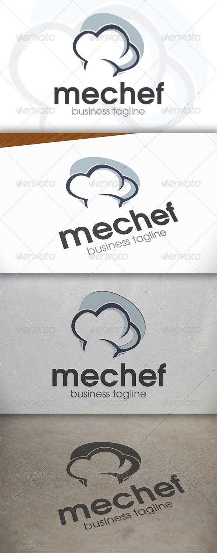 GraphicRiver Chef Logo 6687633