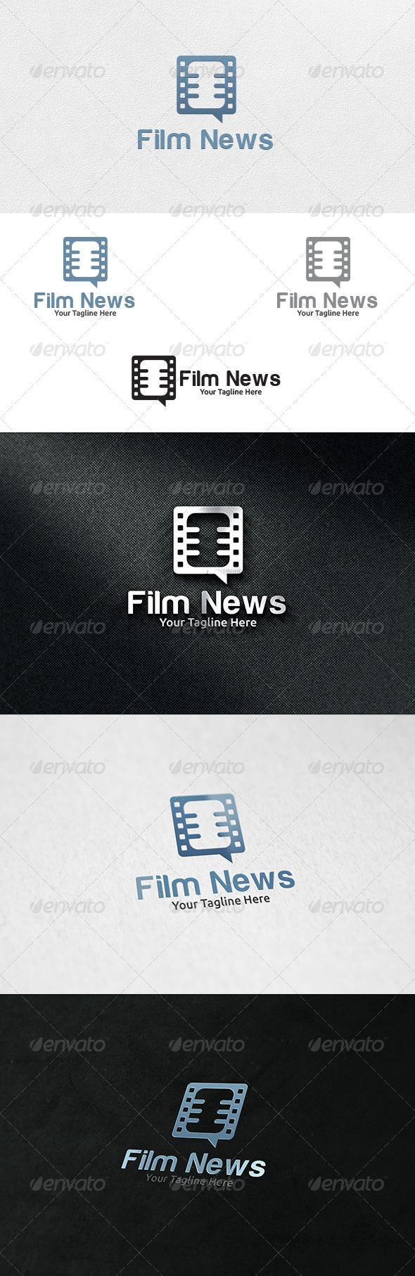 GraphicRiver Film News Logo Template 6688093