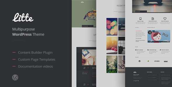 ThemeForest Litte Multipurpose WordPress Theme 6688358