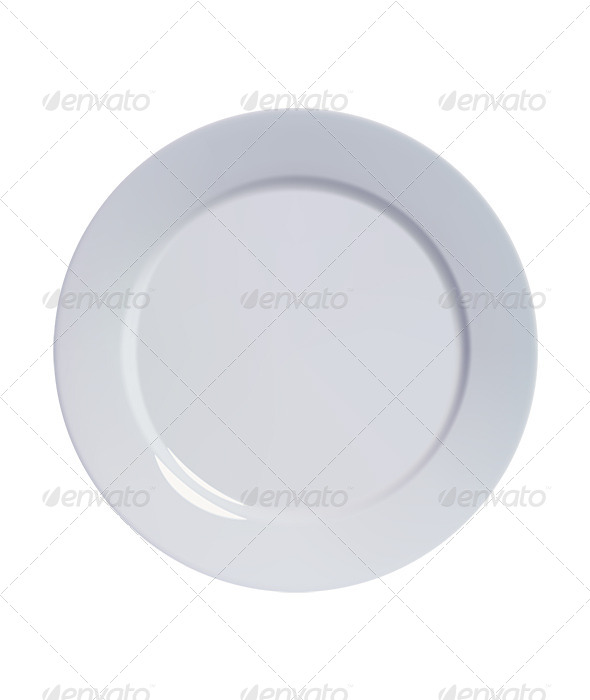 GraphicRiver Empty Plate 6688666