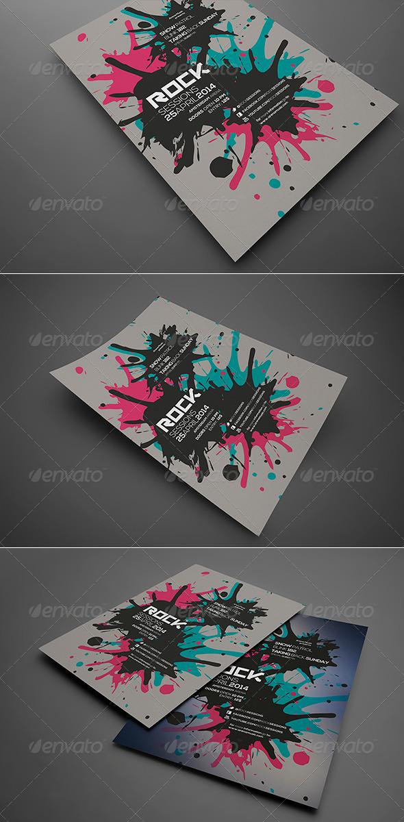 GraphicRiver Splash Flyer Vol 2 6688691