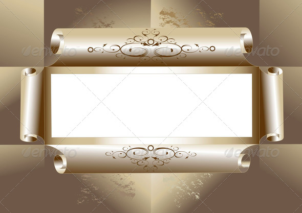 Vintage Frame or Background   - Stock Photo - Images