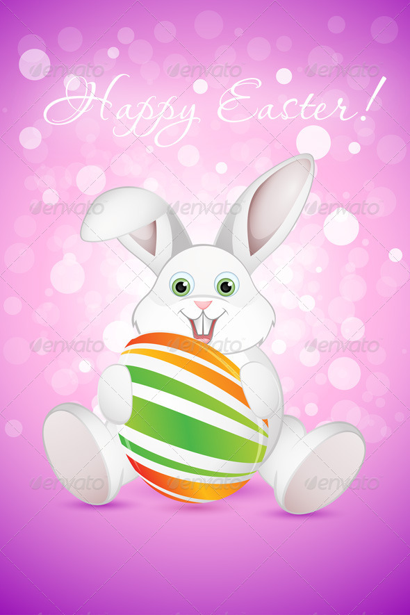 GraphicRiver Easter Background 6689157