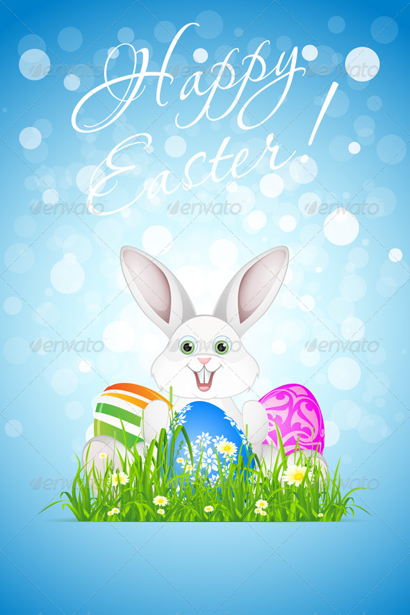 GraphicRiver Easter Background 6689168