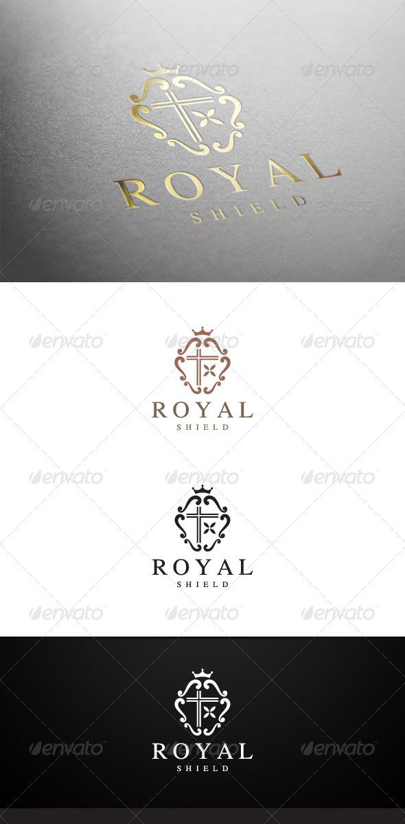 GraphicRiver Royal Shield Logo 6689283