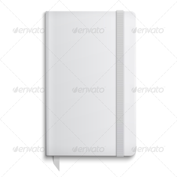GraphicRiver Blank Copybook Template 6689599