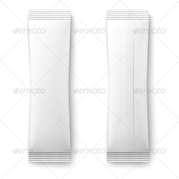 GraphicRiver White Paper Sachet Bag 6689605