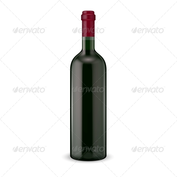 GraphicRiver Wine Bottle 6689622
