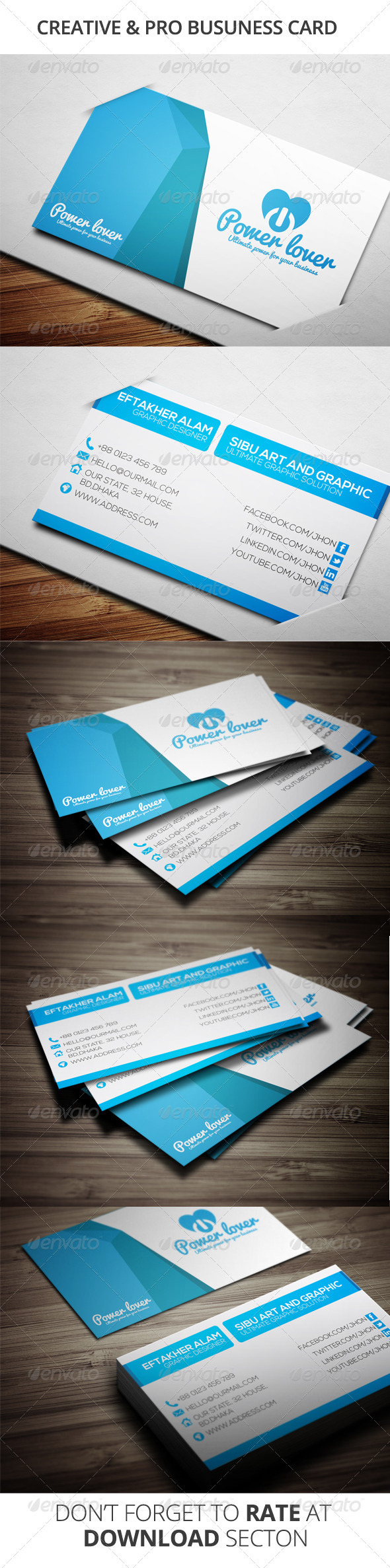 GraphicRiver Creative Business Card 6689714