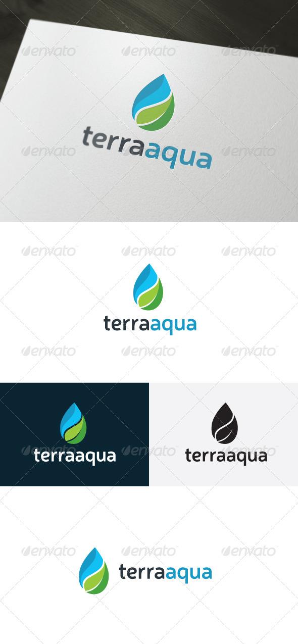 GraphicRiver Terra Aqua Logo 6690149
