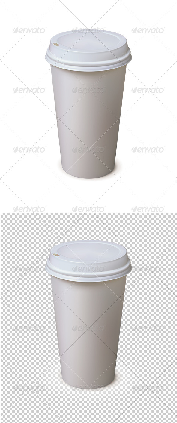 GraphicRiver Paper Cup 6691177