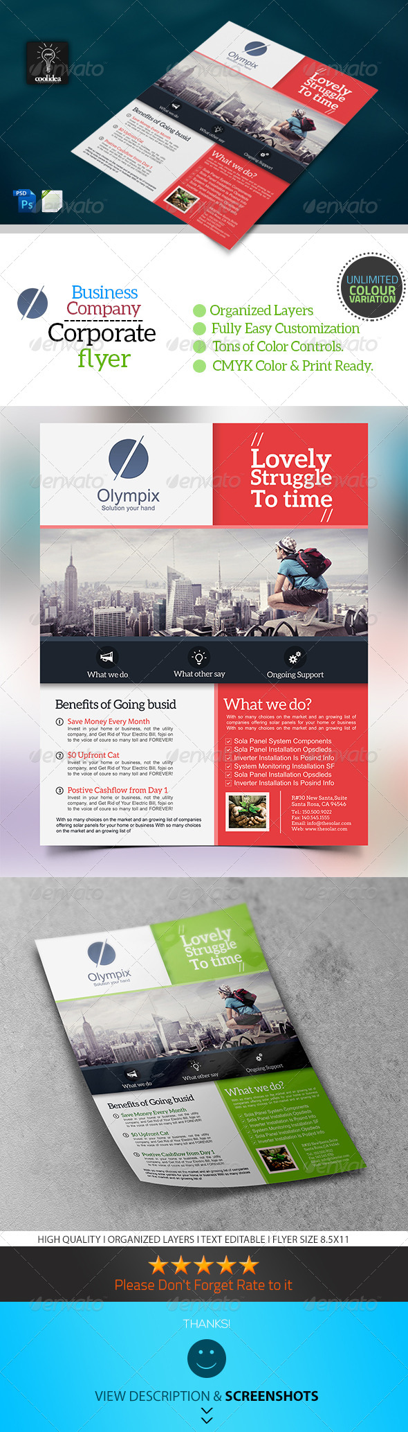GraphicRiver Corporate Flyer Template Business Vol02 6691241