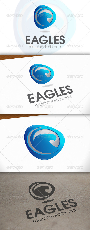 GraphicRiver Eagle Media Logo 6691349