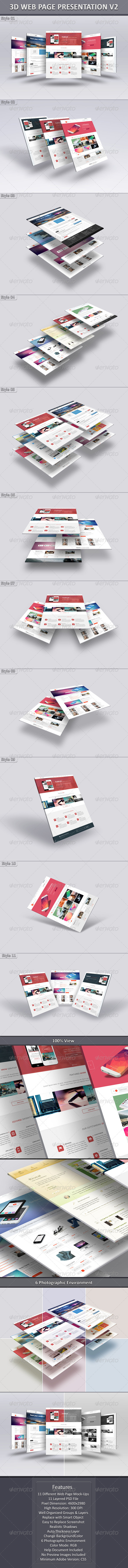 GraphicRiver 3D Web Page Presentation V2 6691601