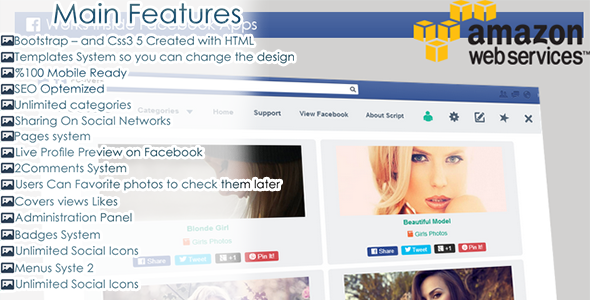 CodeCanyon FCovers Facebook Timeline Covers 6647851