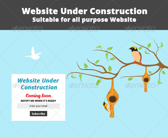 GraphicRiver Website Under Construction 6692143