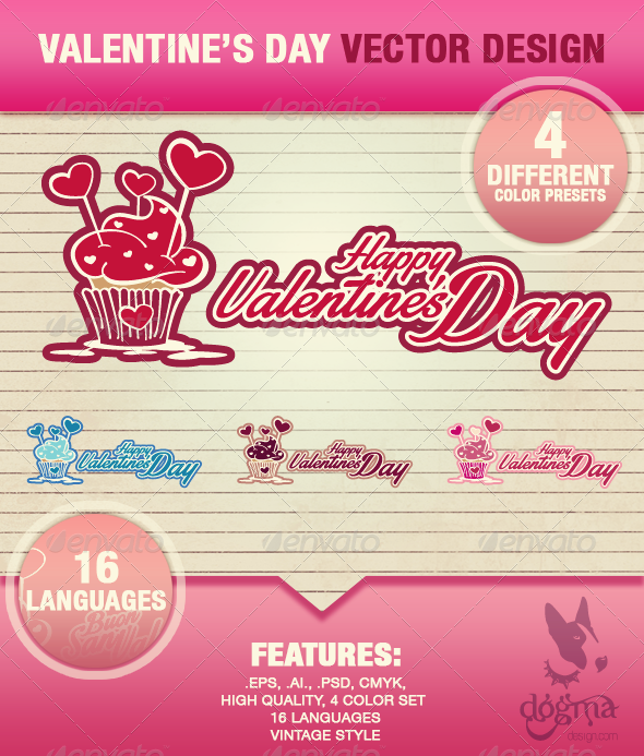 GraphicRiver Happy Valentine s Day Illustrations 6692491