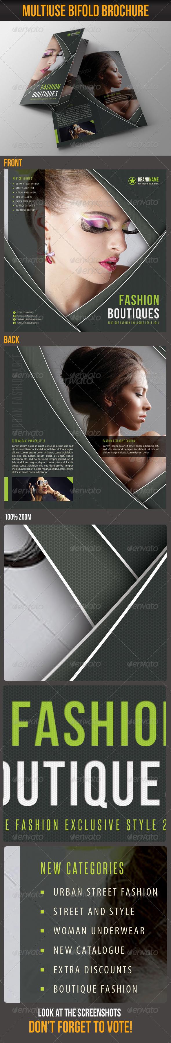 GraphicRiver Multiuse Bifold Brochure 45 6692493