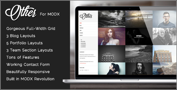 Other - Creative Photography MODX Theme