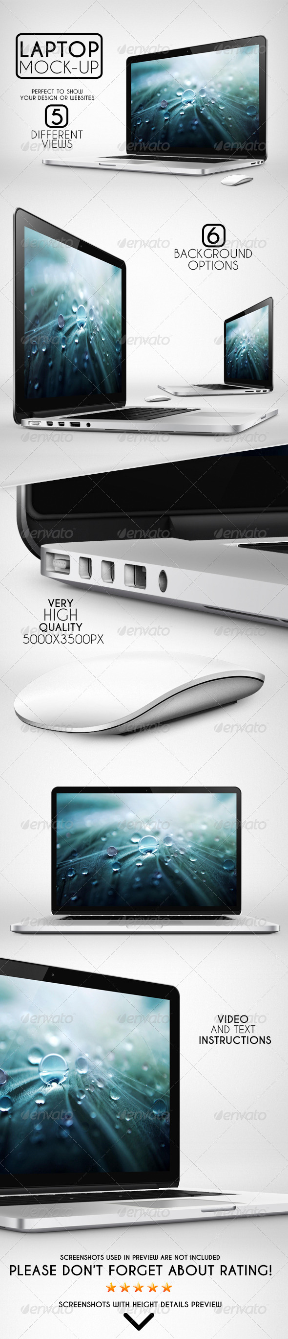 GraphicRiver Laptop Mock-Up 6693499