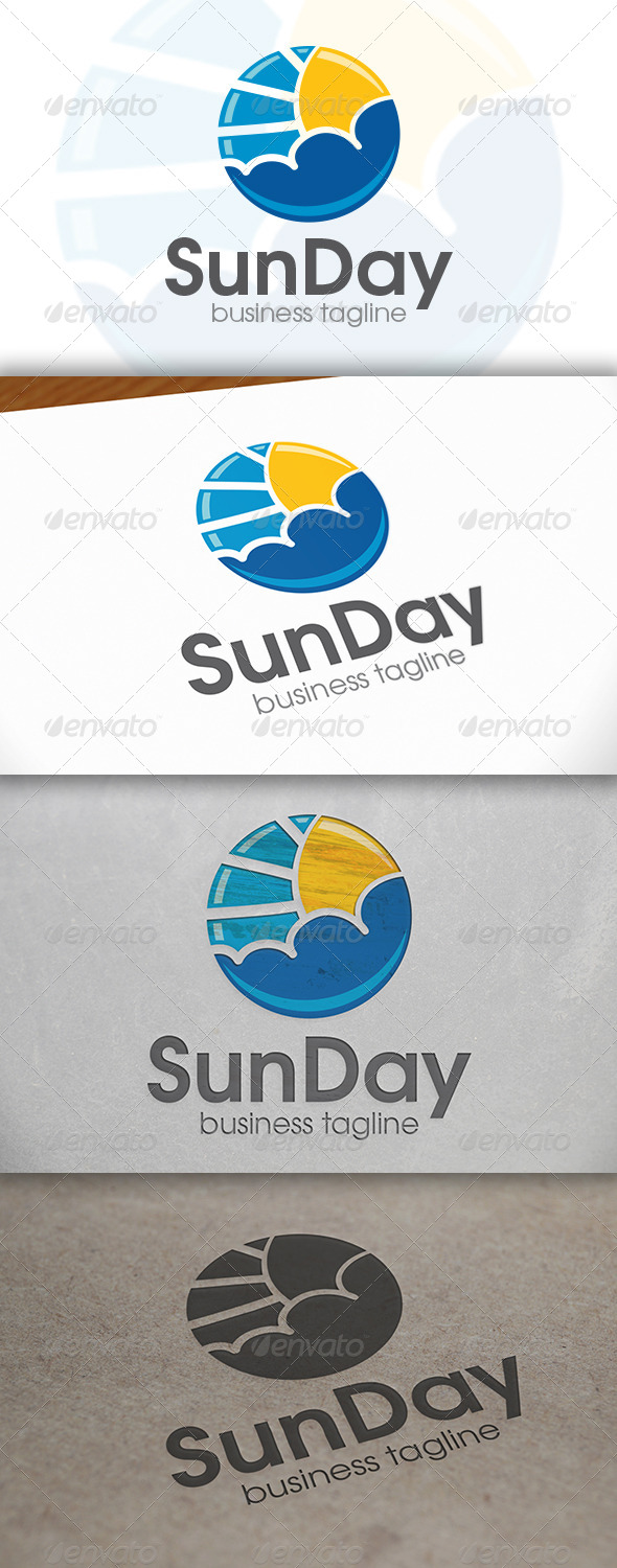 GraphicRiver Sun Day Logo 6693667