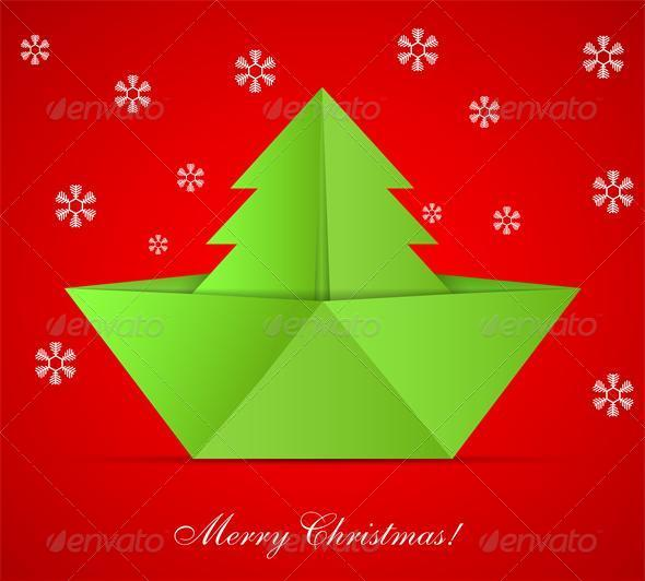 GraphicRiver Concept of the Christmas Tree 6371408