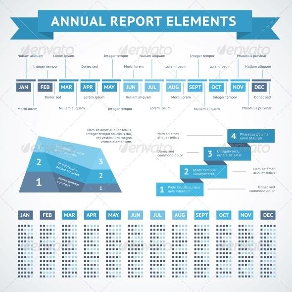 GraphicRiver Presentation Infographics Charts for Finance 6693675
