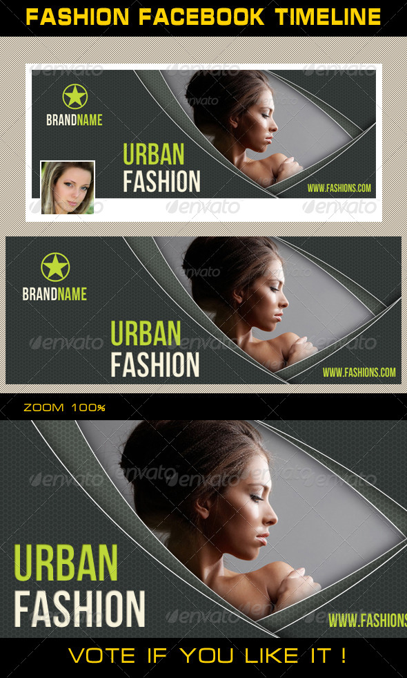 GraphicRiver Fashion Facebook Timeline 07 6693875