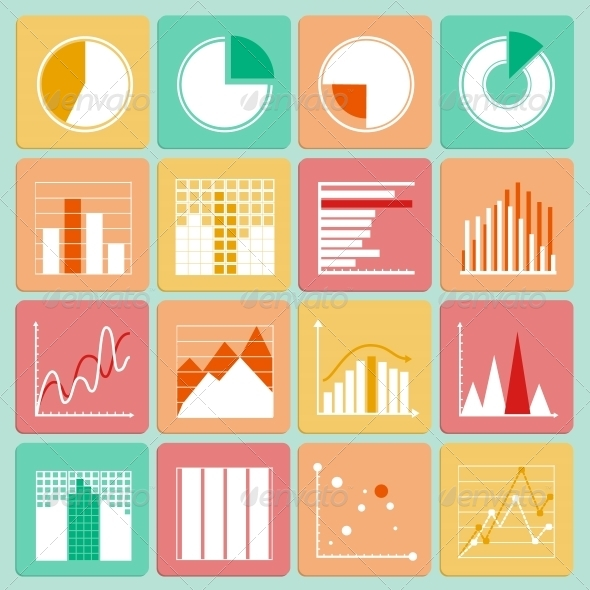 GraphicRiver Business Presentation Charts and Graphs 6694148