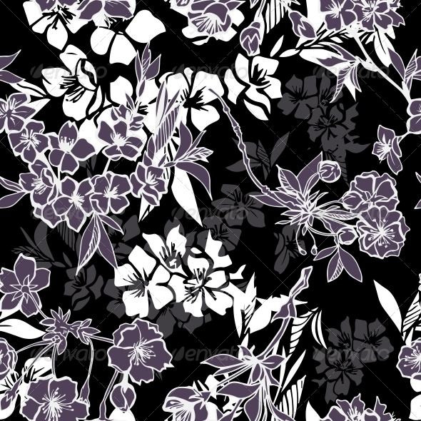 GraphicRiver Cherry Blossom Pattern 6694398