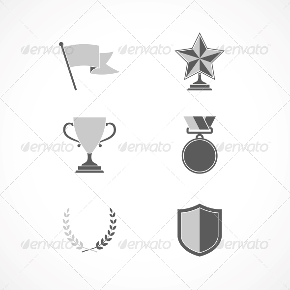GraphicRiver Game Winning Awards and Recognition Signs 6694401