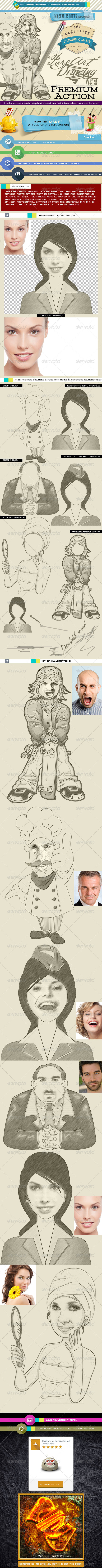 GraphicRiver Pure Art Hand Drawing 54 Mixed Characters Kit 6694415