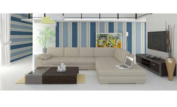 3DOcean living room interior 3D 6694909