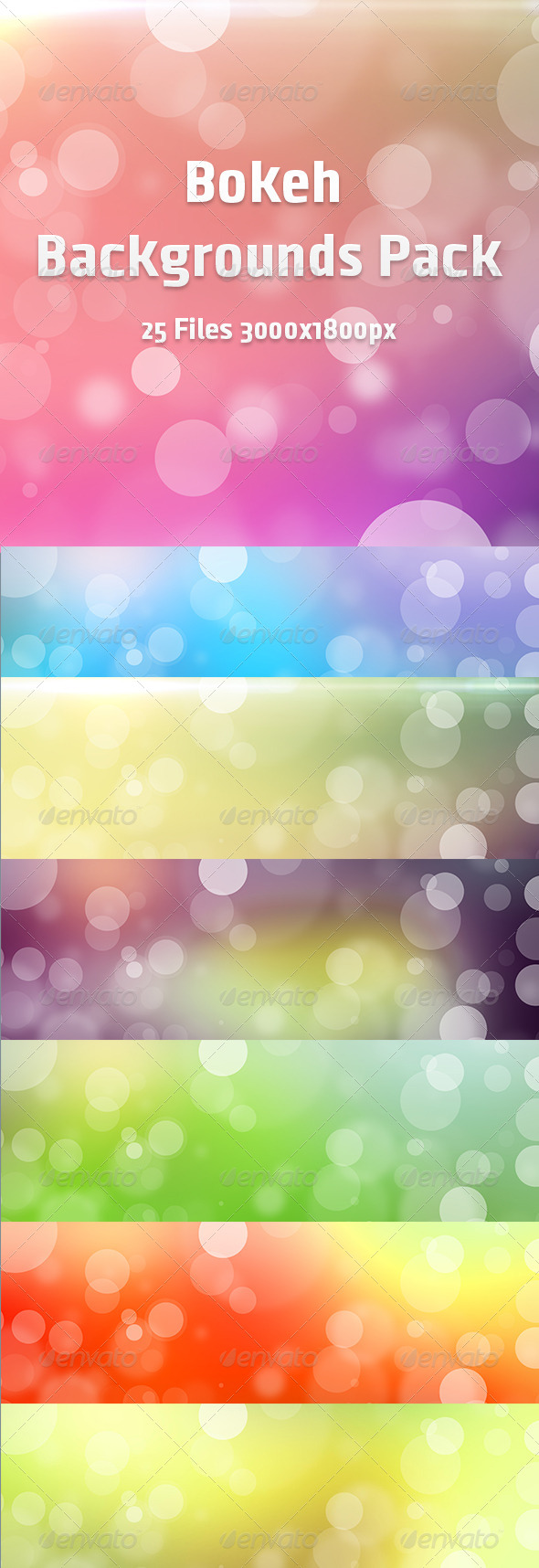 GraphicRiver Bokeh Backgrounds Pack 6695504