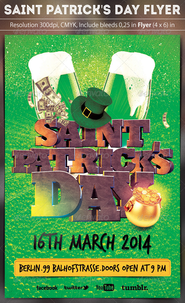 GraphicRiver Saint Patricks Day Party 6695894