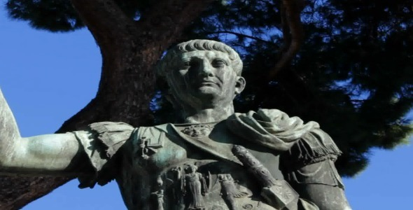 Trajan s Statue in Rome
