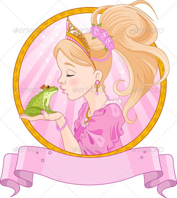 GraphicRiver Princess and Frog 6696499