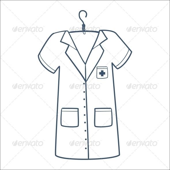 GraphicRiver Nurse or Doctor Uniform 6696642