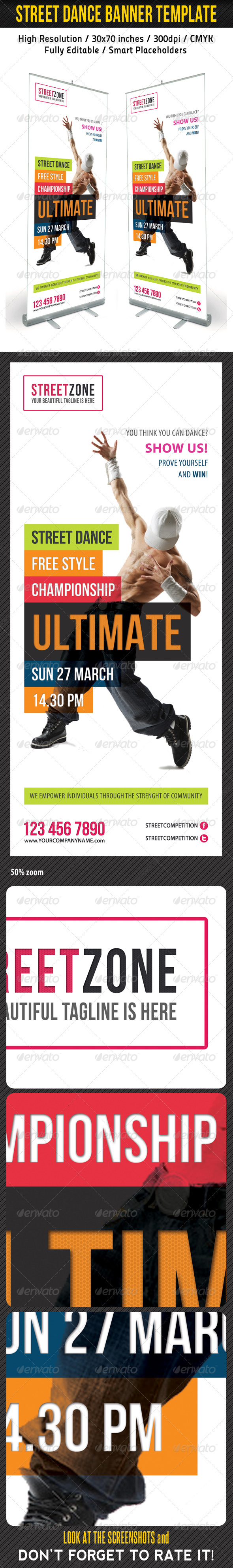 GraphicRiver Dance Banner Template 6696775