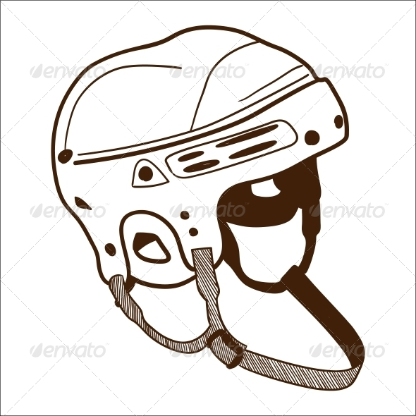 GraphicRiver Hockey Helmet 6696786