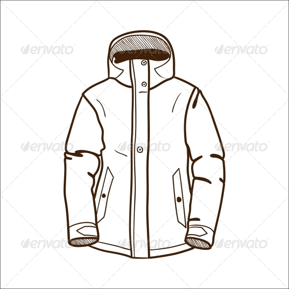 GraphicRiver Winter Sport Jacket 6696787
