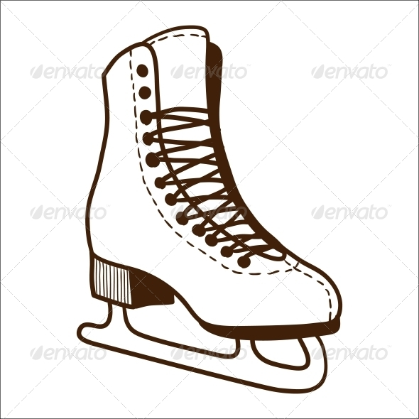 GraphicRiver Ice Skates 6696790
