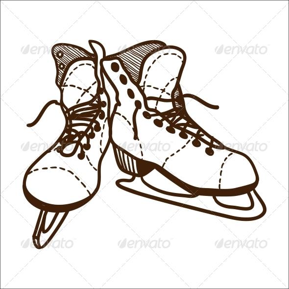 GraphicRiver Ice Skates 6696793