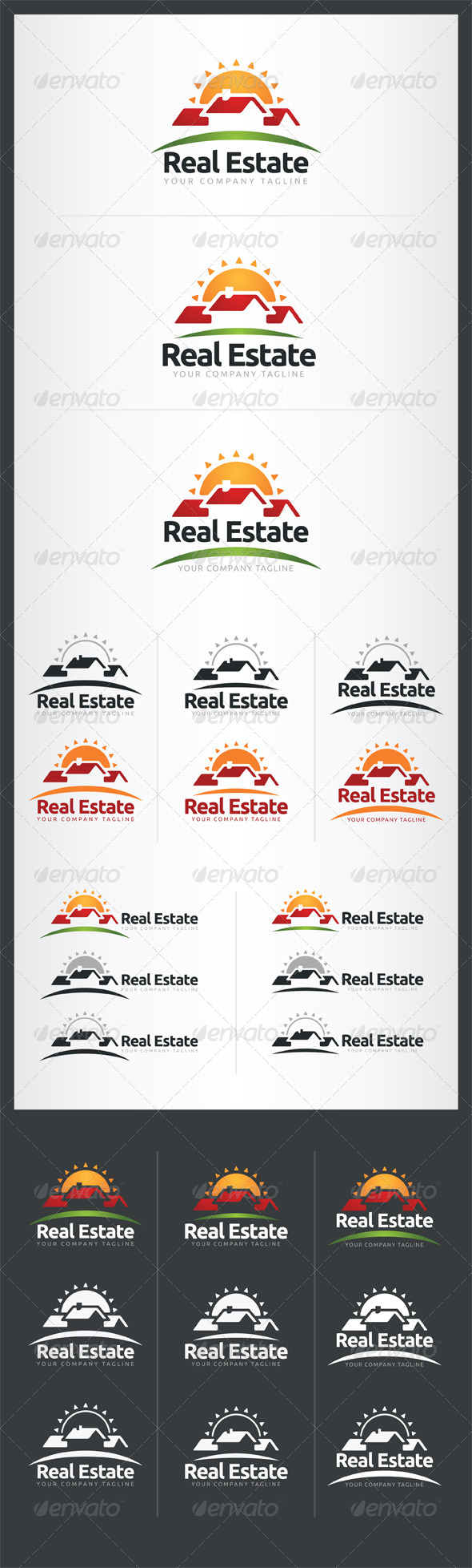 GraphicRiver Real Estate Logo Template 6696998