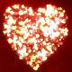 Wedding Hearts Background
